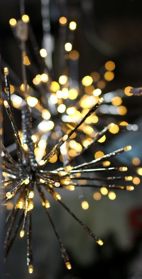 Brights de LEIDENE lichtenslinger speelt sneeuwvlok mee royalty-vrije stock fotografie