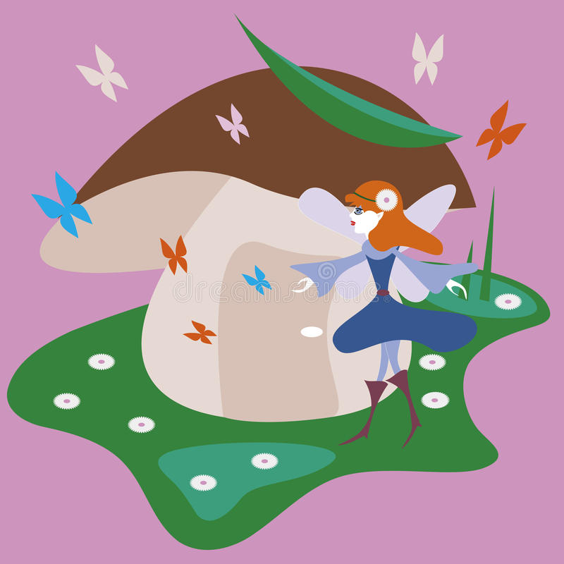 Hada del bosque libre illustration