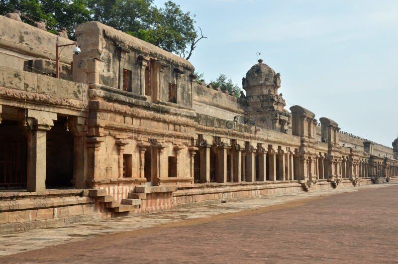 Brihadeeswara świątynia, Thanjavur obrazy royalty free