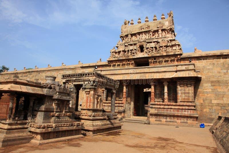 Brihadeeswarar寺庙在Thanjavur 免版税图库摄影