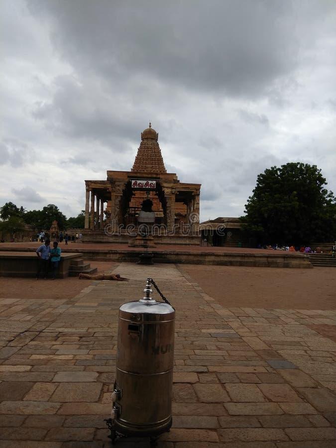 Brihadeeswarar-Tempel thanjavur Radscharadscha cholar lizenzfreie stockfotografie