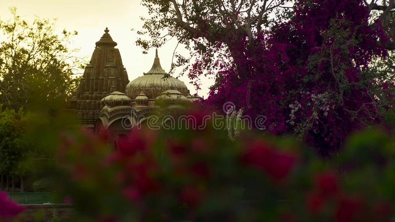 Brihadeshwara Indian Temple, Thanjavur, Tamil Nadu, India stock photo