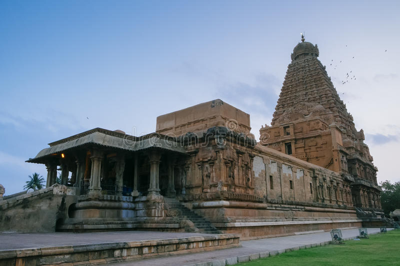 Brihadishvara temple, Thanjavur Tanjore, UNESCO World Heritag. E stock photo