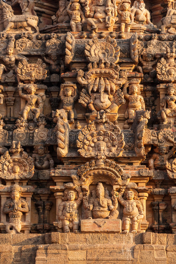 Brihadishwarar Świątynia, Thanjavur obrazy stock