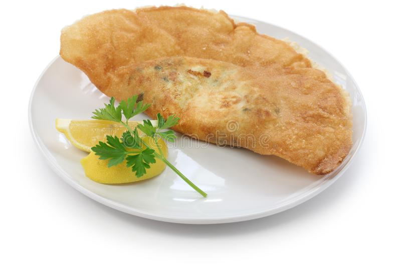 Brik, τυνησιακά τρόφιμα στοκ εικόνες
