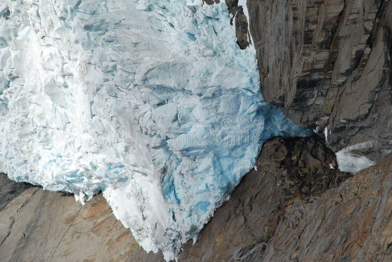 Briksdalsbreen Gletscher in Jostedalsbreen, Norwegen stockfoto