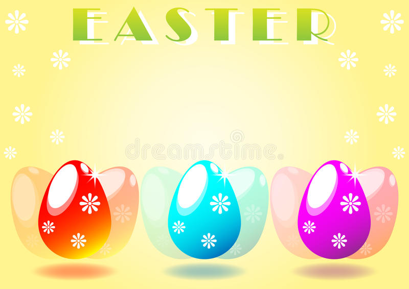 Download Ovos da páscoa ilustração stock. Ilustração de gráfico - 29843730