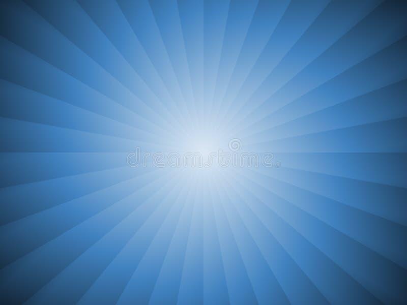 Brilho azul ilustração royalty free