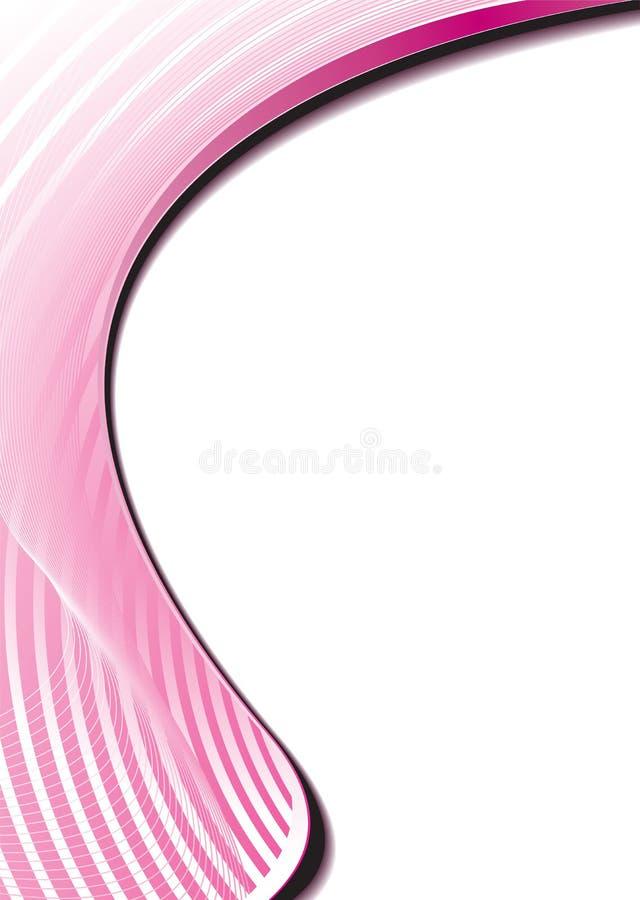 Brilho circular cor-de-rosa ilustração royalty free