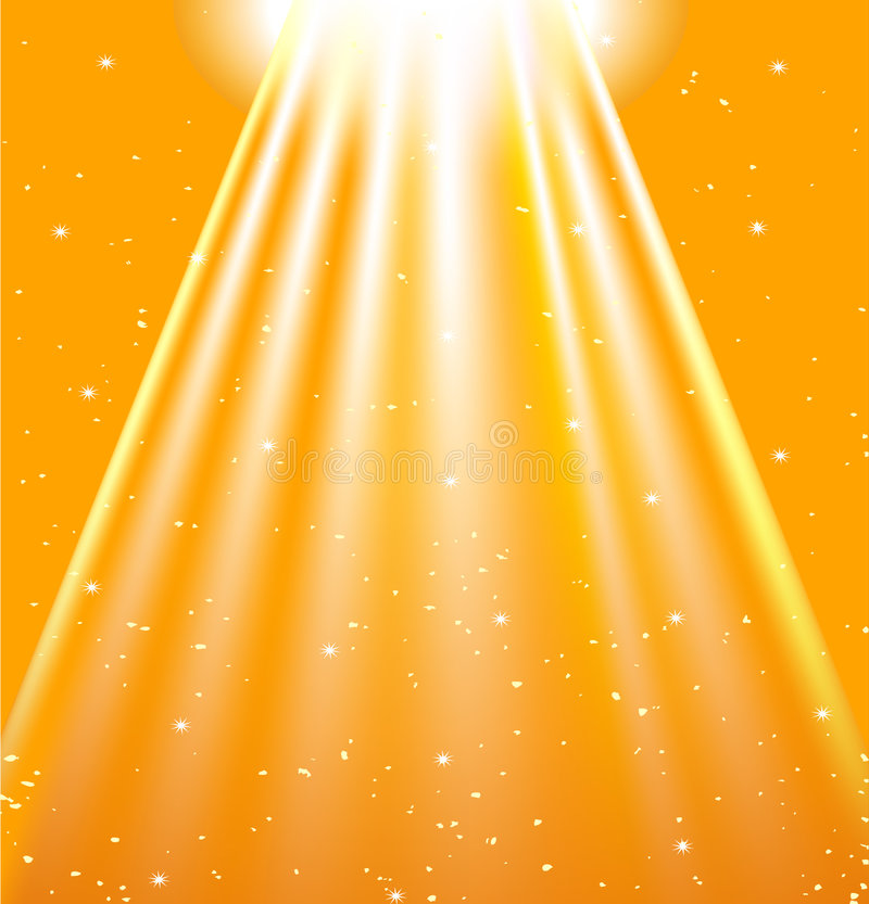 Brilho de Sun ilustração stock