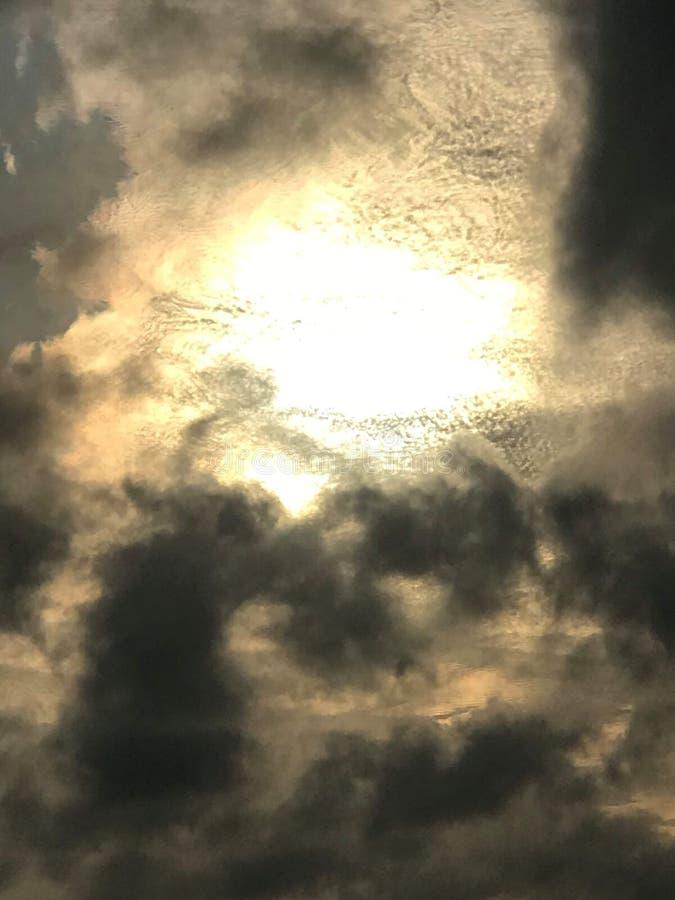 Brilho do hath do olho dos céus fotografia de stock