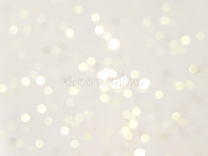 Brilho no fundo branco foto de stock