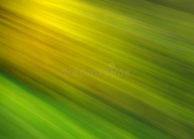Brilho verde - fundo abstrato ilustração do vetor