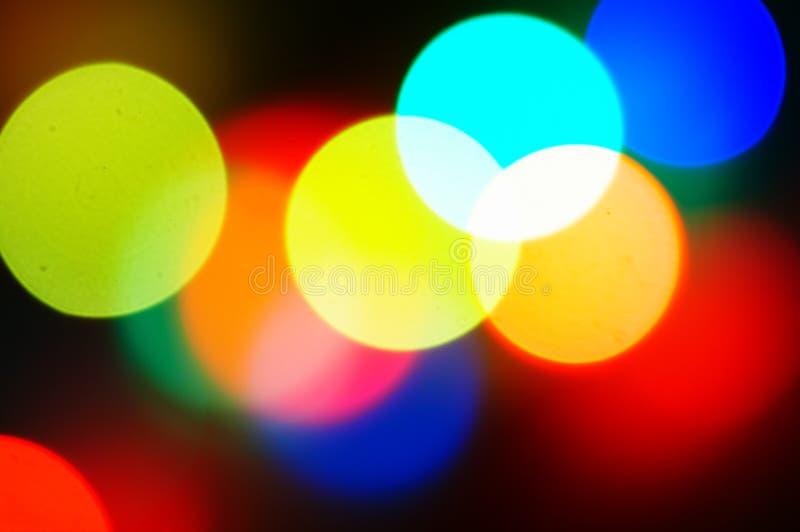 Brilhos da luz imagens de stock