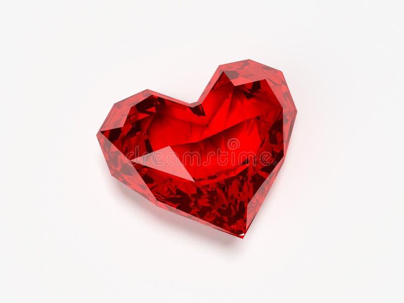 Briljant hart royalty-vrije illustratie