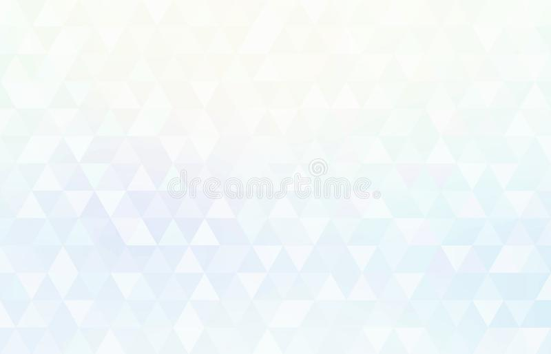 Brilliance crystal geometric pattern. Triangles white blue shiny background. Creative image for any design. Simple graphics. Great template for advertising vector illustration