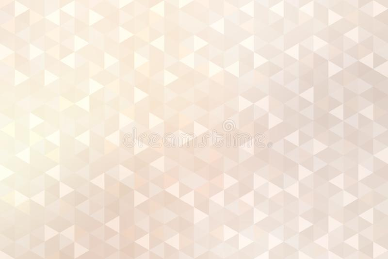 Brilliance triangle shapes pastel pattern. Subtle mosaic shimmer texture. Light trendy background. Background or texture is the best illustration for design royalty free illustration
