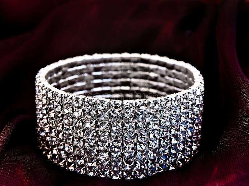 Brilliant bracelet royalty free stock photo