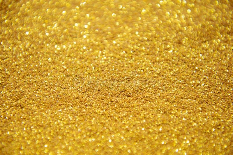 Brillo abstracto del oro para el fondo fotos de archivo