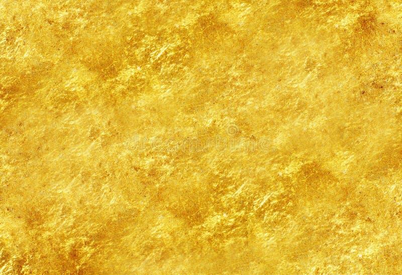 Brillo de la textura del oro imagen de archivo libre de regalías