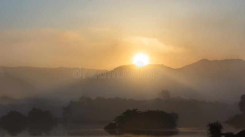 Brillo de Sun de la mañana fotos de archivo libres de regalías