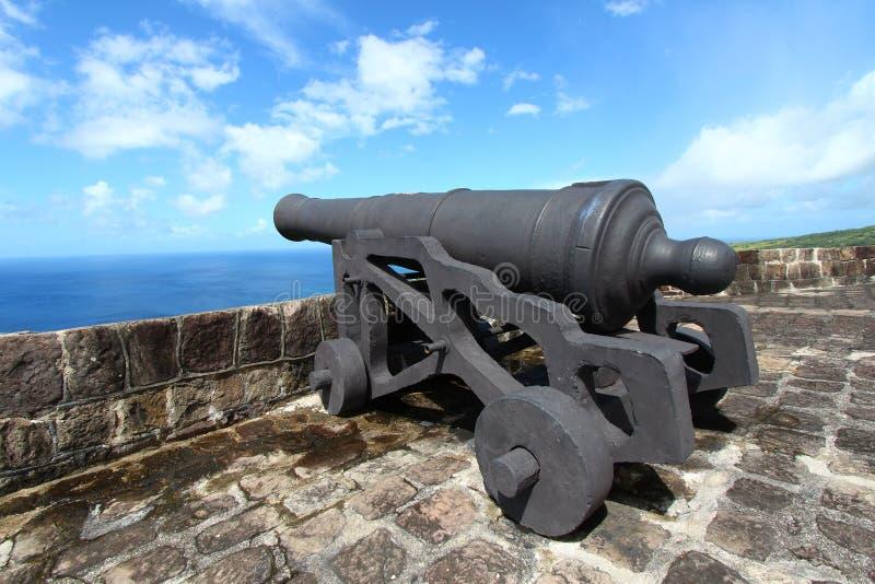Brimstone Hill Fortress - St Kitts stock photo