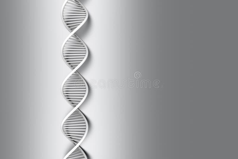 Brin d'ADN illustration libre de droits