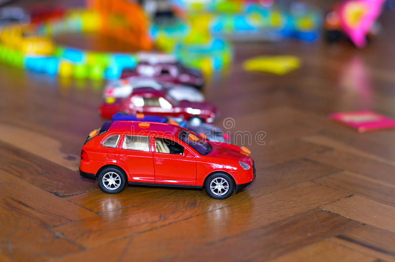 Brinca carros imagens de stock royalty free