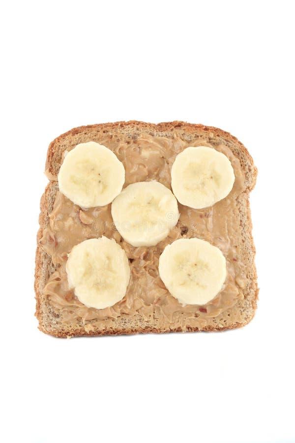 Brinde da manteiga de amendoim foto de stock