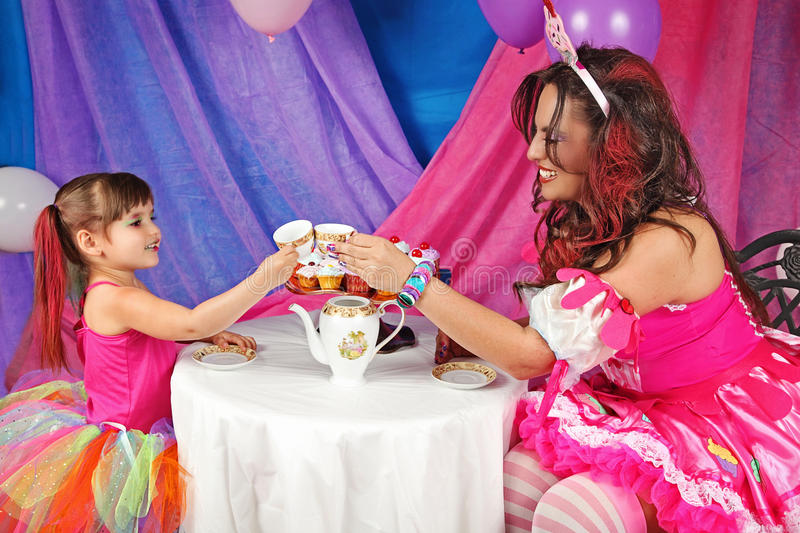 Brinde do tea party imagem de stock royalty free