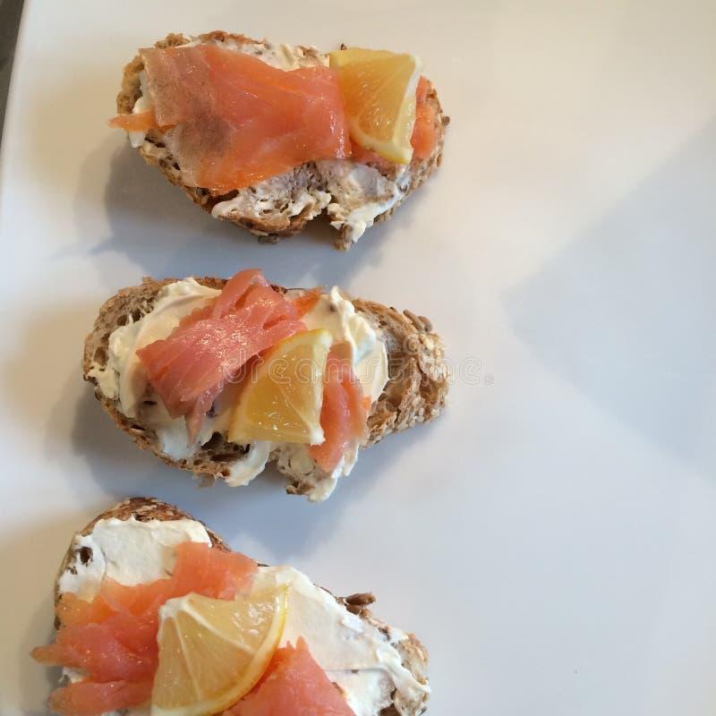 Brinde Salmon foto de stock royalty free