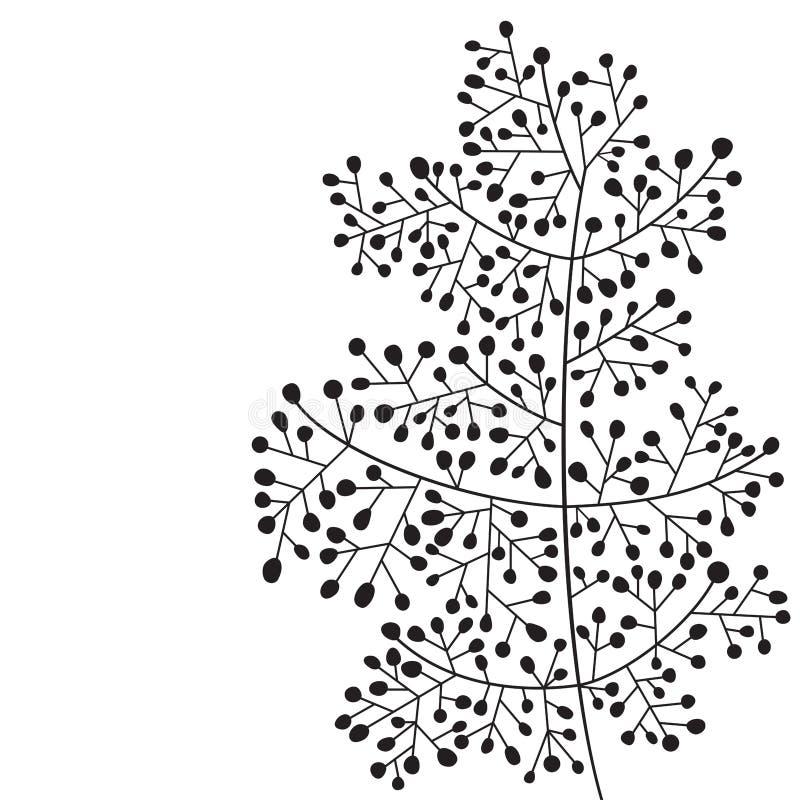 Brindille abstraite illustration stock