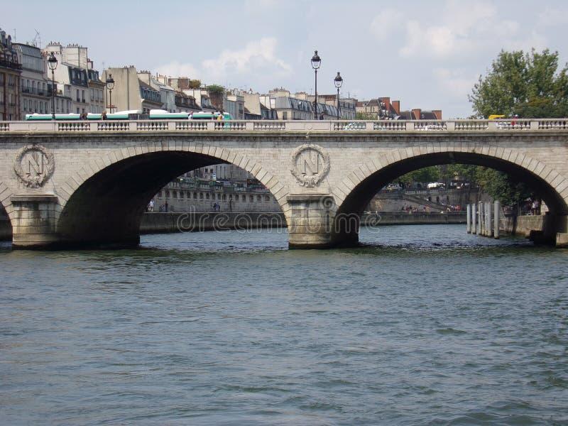 Bringe a Parigi immagine stock libera da diritti