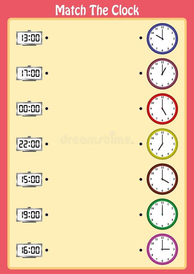 Bringen Sie Die Uhren, Kinder Lernen, Analoge Uhren Mit Diesem ...