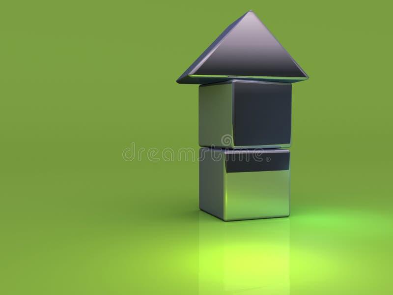 Brinquedo 1 da casa ilustração do vetor