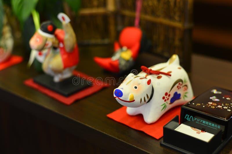 Brinquedo animal pequeno para a decoração fotos de stock