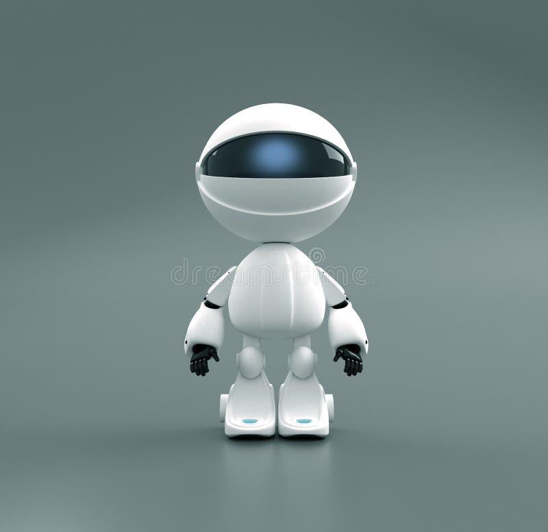 Brinquedo bonito do robô ilustração do vetor