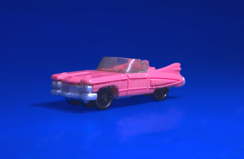 Brinquedo Cadillac foto de stock