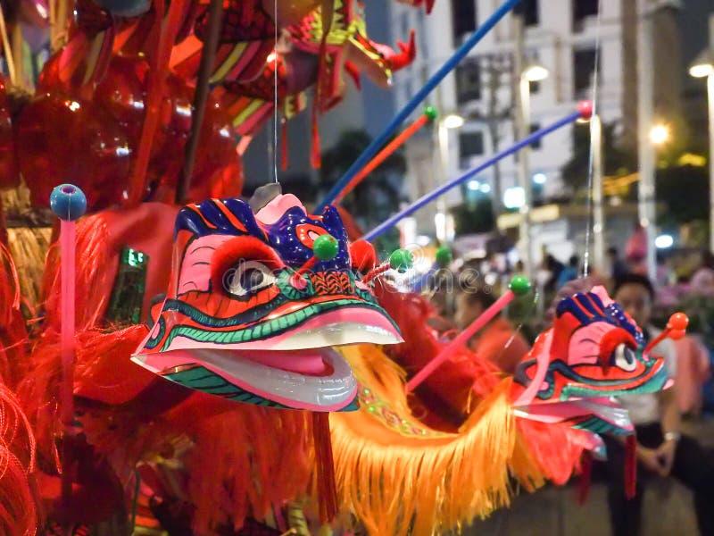 Brinquedo chinês do leão de Tradional fotos de stock royalty free