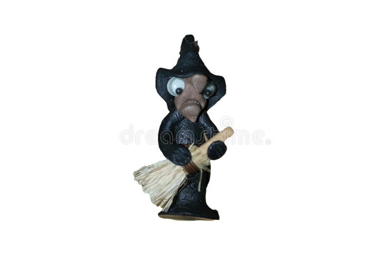 Brinquedo da bruxa foto de stock