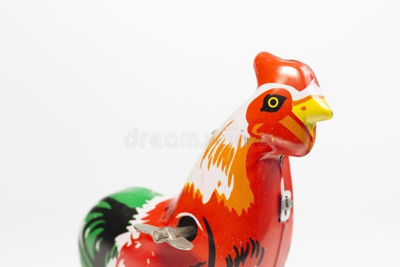 Brinquedo da galinha do vintage fotografia de stock