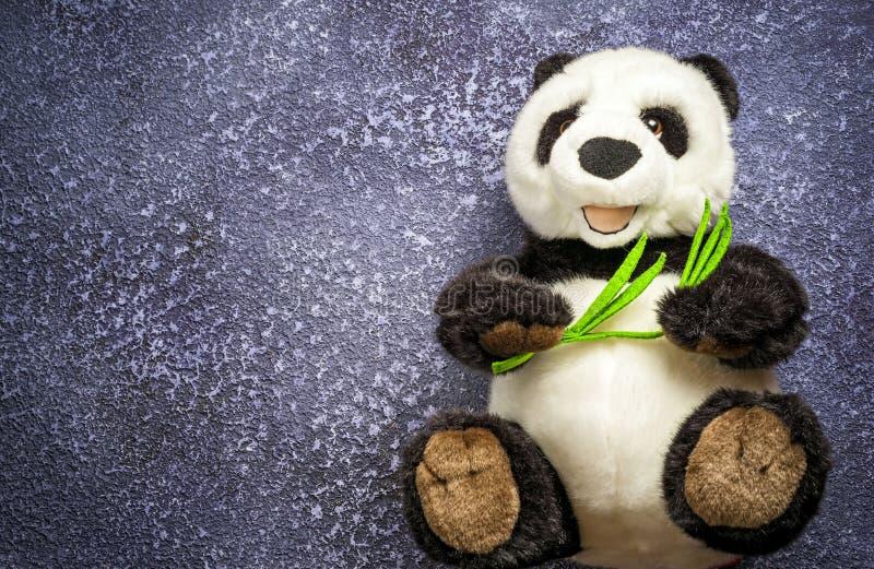 Brinquedo da panda fotografia de stock