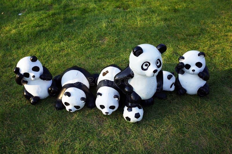 Brinquedo da panda imagens de stock
