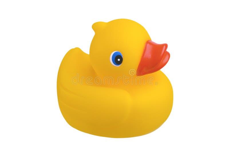 Brinquedo de borracha do banho do pato imagens de stock royalty free