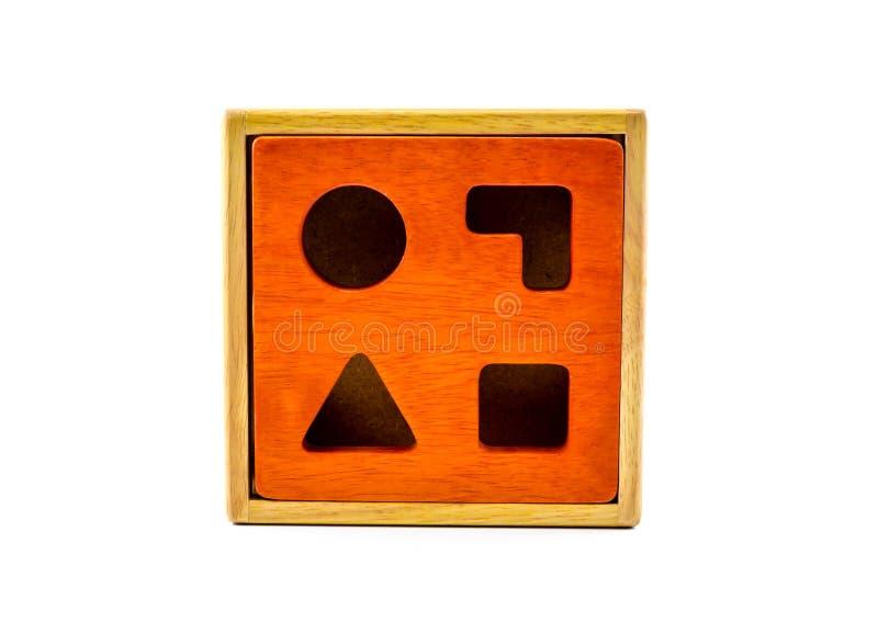 brinquedo de madeira do classificador da forma dos blocos fotos de stock