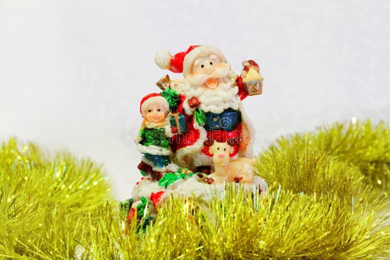 Brinquedo de Santa Claus fotografia de stock