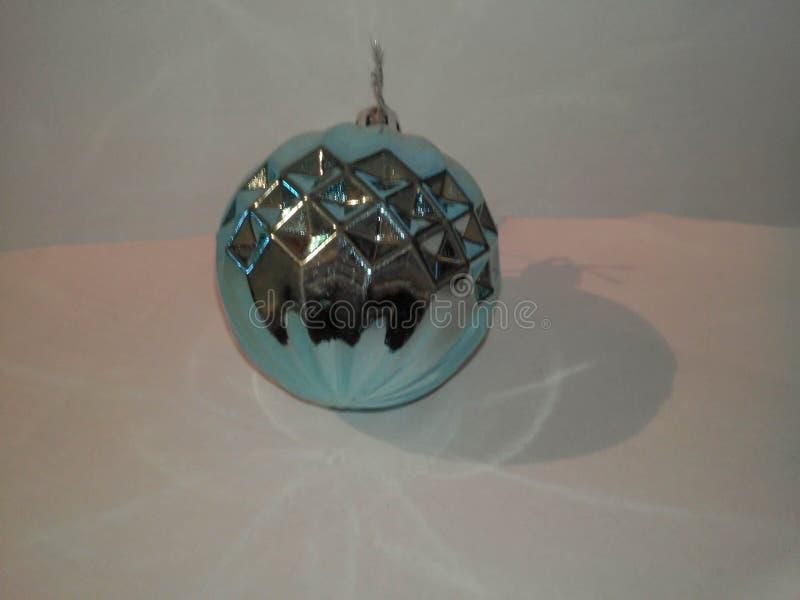 Brinquedo do azul do Natal foto de stock royalty free