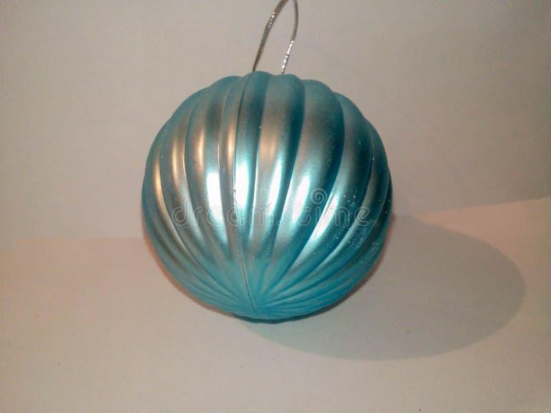 Brinquedo do azul do Natal fotos de stock