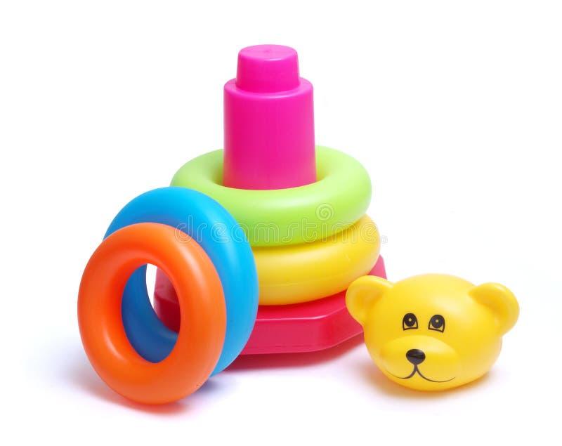 Brinquedo do bebê fotografia de stock