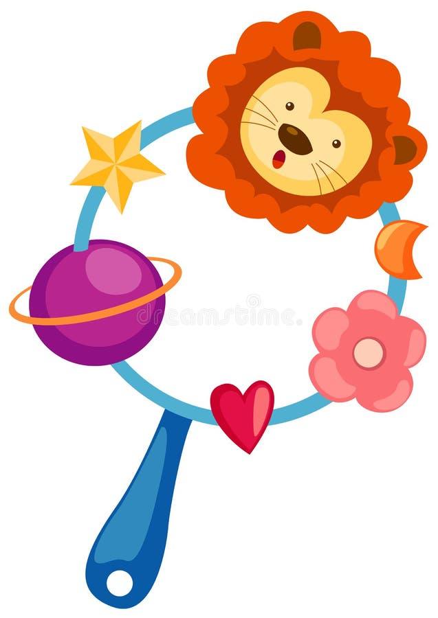 Brinquedo do bebê ilustração stock